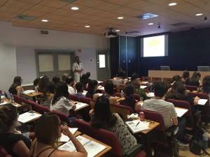 Alumnes a classe. Edició 2016